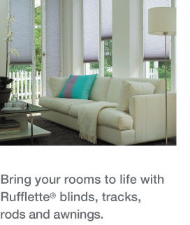 Curtain Rods | Rails | Blinds | Factory Showroom